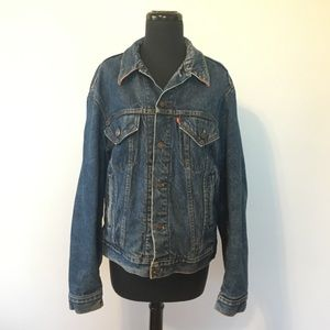 HP! VTG Levi's Denim Jacket With Flannel Liner 42L